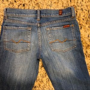 7 For All Mankind Bootcut Jeans 26 EUC